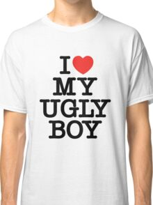 Die Antwoord - I Love My Ugly Boy (black) Classic T-Shirt