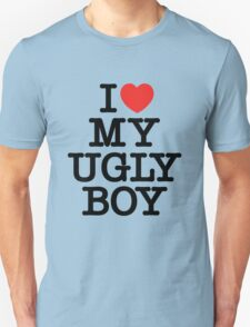 Die Antwoord - I Love My Ugly Boy (black) Unisex T-Shirt