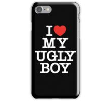 Die Antwoord - I Love My Ugly Boy (white) iPhone Case/Skin