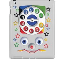 Toys Dial Phone iPad Case/Skin