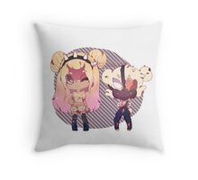 :.Amii & Edinburgh.: Throw Pillow