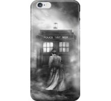The Doctor in the Mist - Doctor Who Nerd iPhone Case/Skin