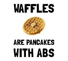 Waffles Abs by AmazingMart