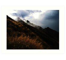 Wanaka Highlands Art Print