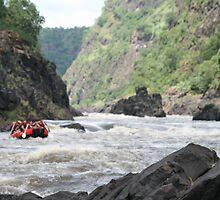 white water rafting on the zambezi by imkaye