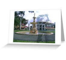 Adelaide Oval Sir Donald Bradman Greeting Card