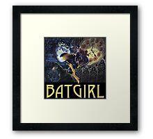 Gothic Batgirl Framed Print