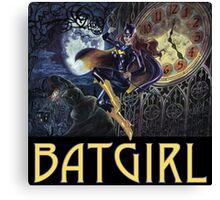 Gothic Batgirl Canvas Print