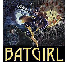 Gothic Batgirl Photographic Print