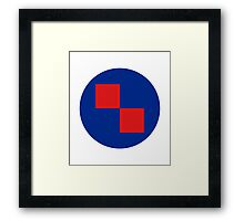 Croatian Air Force - Roundel Framed Print