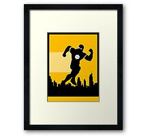 Speed Kills Framed Print