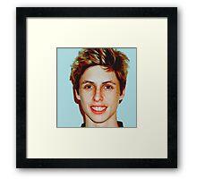 Lucas Vercetti Pullover- Multi Color Framed Print