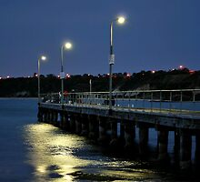 The Pier at Half Moon Bay by nickdell