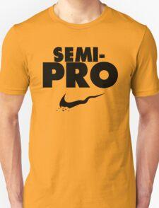 Semi-Pro - Nike Parody (Black) Unisex T-Shirt