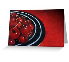 Cherries on Your Plate Greeting Card