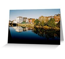 Cork Reflection Greeting Card