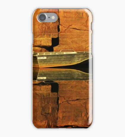 A Tinny and it's reflections iPhone Case/Skin