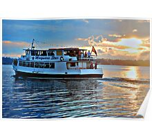 The Macquarie Princess - Lake Macquarie NSW Poster