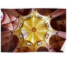 Symmetric Ceiling Poster