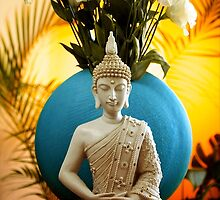 Buddha in colour by f-zimba