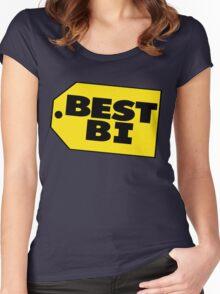 Best Bi - Parody Women's Fitted Scoop T-Shirt