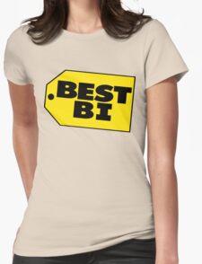 Best Bi - Parody Womens Fitted T-Shirt