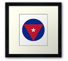 Cuban Air Force - Roundel Framed Print