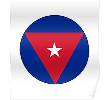 Cuban Air Force - Roundel Poster