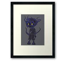 Shadow Sora Framed Print