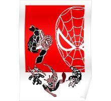 Spiderman Inspired Design  Poster