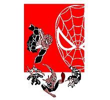 Spiderman Inspired Design  Photographic Print