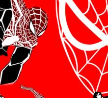 Spiderman Inspired Design  Sticker