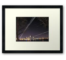 Louisville Kentucky Skyline Framed Print