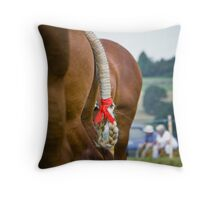 That little red bow  Throw Pillow