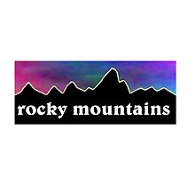 Rocky Mountains by BuyMyTees