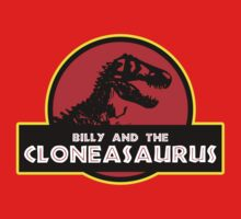 Billy and the Cloneasaurus Kids Tee