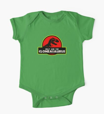 Billy and the Cloneasaurus One Piece - Short Sleeve