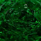 green ripples by Francesca Rizzo