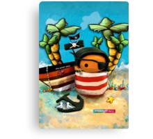 CHUNKIE Pirate Canvas Print