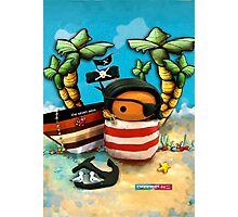 CHUNKIE Pirate Photographic Print