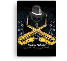 """The"" Duke Silver Canvas Print"
