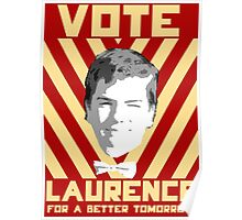 Vote Laurence Poster