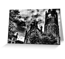 The Guildhall, Derry City, Northern Ireland Greeting Card