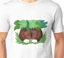 Cat Shelters under Maple Leaves  Unisex T-Shirt