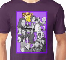 dazed and confused character collage art Unisex T-Shirt
