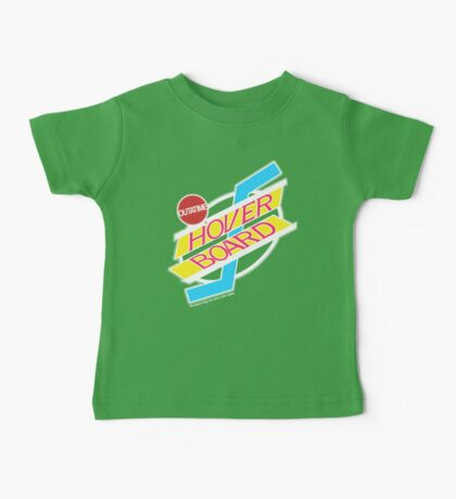 Back to the Future Hover Board Logo Baby Tee