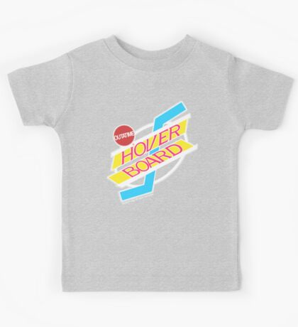 Back to the Future Hover Board Logo Kids Tee