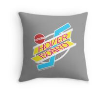 Back to the Future Hover Board Logo Throw Pillow