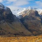 The Three Sisters, Glencoe Highlands Scotland by fineartphotos