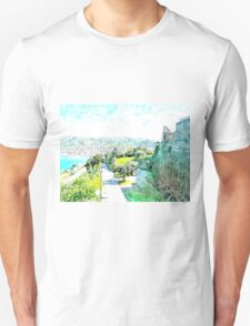 Agropoli: sea cost and castle T-Shirt